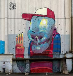 Urban Artists: ARYZ // Mr Pilgrim Graffiti Art Online #graffitiart #aryz #streetart #urbanartists