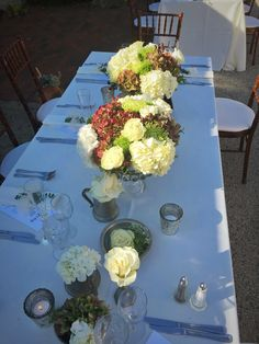 Artquest, Ltd. head table floral design at Elawa Farms in Lake Forest, IL.   Check out artquestltd on Facebook and Instagram for more content!