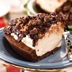 Peanut Butter Cup Icebox Pie | STL Cooks