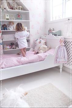 House of Philia Baby Bedroom, Girls Bedroom, Trendy Bedroom, Bedroom Ideas, House Of Philia, Deco Kids, Princess Room, Little Girl Rooms, Kid Spaces