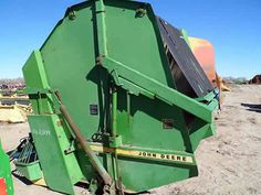 John Deere 510 hay equipment salvaged for used parts. This unit is available at All States Ag Parts in Bridgeport, NE. Call 877-530-5010 parts. Unit ID#: EQ-23848. The photo depicts the equipment in the condition it arrived at our salvage yard. Parts shown may or may not still be available. http://www.TractorPartsASAP.com