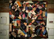 Disappearing Crazy Quilts on Show At The Folsom History Museum