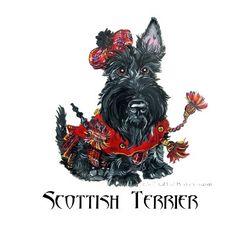 Celtic Scottish Terrier