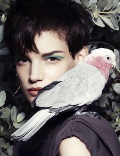 Jessica Pitti by Marcus Ohisson for Tatler Russia June 2013