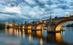 Praga, Puente de Carlos, República Checa