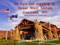 If time equals money, then you want to spend the greatest possible amount of time at Great Wolf Lodge Concord in order to see that you get the most for your money.