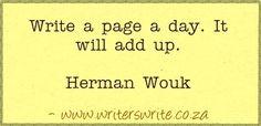 Quotable - Herman Wouk - Writers Write Creative Blog