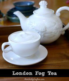 London Fog Tea Recipe #tea