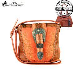 Montana West Concealed Handgun Collection Messenger – Handbag-Addict.com
