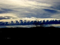 More Roll clouds