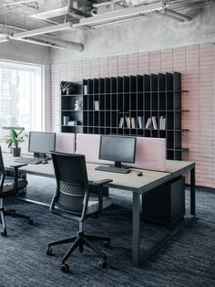 Office Tour: Expert Electric Company Offices Moscow Nastya Kolchina creat… – Home Office Design Diy Modern Office Decor, Industrial Office Design, Home Office Decor, Home Decor, Industrial Chic, Industrial Lamps, Modern Office Spaces, Modern Offices, Work Spaces