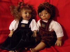 2 Schlummerle, Sammlerpuppen, Dekopuppen unzertrennlich!!2 | eBay