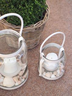 White Lanterns and Seashells