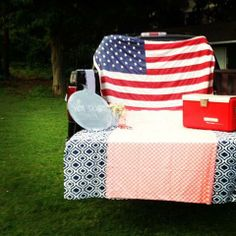 Labor Day Tailgate | Hen House Linens