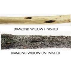 Diamond Willow Wood for a Cane Build  Product from treelineusa.com