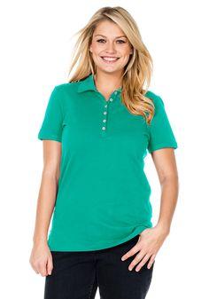 Typ , Poloshirt, |Material , 100% Baumwolle, |Kragen , Polokragen, |Gesamtlänge , ca. 70 bis 78 cm, | ...
