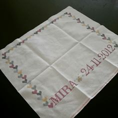 Cross stitch, art, hand made,love daughter,Mira