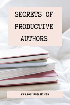 How do some authors write a book so quickly? Glean some great productivity and writing tools and techniques from bestselling authors in this blog post! #authorlife #writing #productivity