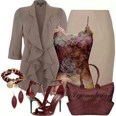 Beautiful mixture for fall!!