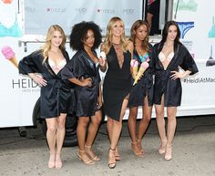 Heidi Klum hosts a lingerie trunk event at Macy's Herald Square in New York City on June 23, 2016