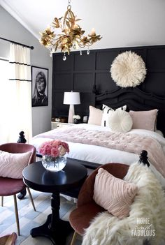 Summer is arriving and we need to get ready for it so, today PullCast is going to present you 6 impressive summer interior design trends for your home. Glam Bedroom, Room Ideas Bedroom, Home Decor Bedroom, Dream Rooms, Luxurious Bedrooms, My New Room, Home Decor Inspiration, Decor Ideas, Interior Design
