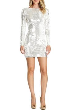 8e3b4c63335 Dress the Population Dress the Population  Lola  Backless Sequin Minidress  (Nordstrom Exclusive)
