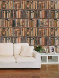Love this Andrew Martin Library Wallpaper