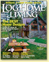 Photos of Jack Hanna's Log Cabin House | Log Home Living - LogHome.com