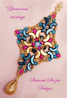 Gioielli artigianali e tutorial Handmade jewelry and beading tutorials