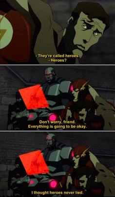 Quotes from Justice League The Flashpoint Paradox (2013) Movie