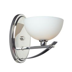 Ellipse 1-light Chrome Wall Sconce - Overstock™ Shopping - Top Rated Z-Lite Sconces & Vanities