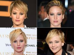 The Guide to Styling Your Short Hair, Brought to You By Jennifer Lawrence | People.com