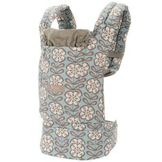 ERGO Designer Collection Baby Carrier - Petunia Pickle Bottom - Peaceful Portofino