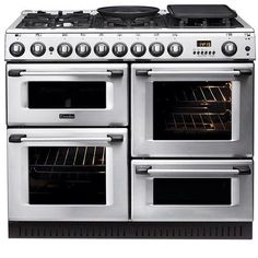Buy Hotpoint Professional Gas Range Cooker - Stainless Steel from Appliances Direct - the UK's leading online appliance specialist Range Cooker Kitchen, Kitchen Stove, Kitchen Pantry, New Kitchen, Kitchen Dining, Kitchen Decor, Kitchen Cabinets, Kitchen Appliances, Updated Kitchen