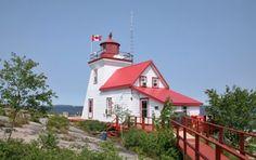 Brébeuf Island Lighthouse, Ontario Canada at Lighthousefriends.com