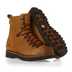 The North Face Ballard Boots - Camel Brown/Slickrock Red. Full leather upper, nice everyday wear boot.