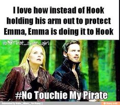 Once upon a time - Hook and Emma
