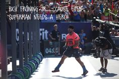 Rich Froning - awesome!  #crossfit, #richfroning #winner, #crossfitgames #awesome
