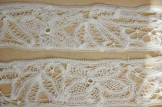 As I told you in yesterday's post, I didn't buy much at Sunday's antiques fair. I came home with lace though. Really gorgeous lace. Antique Fairs, I Coming Home, French, Antiques, Lace, Stuff To Buy, Antiquities, Antique, French People