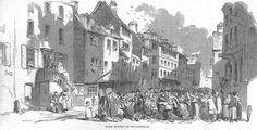 Spitalfields the Huguenots silk weaving district Georgian period