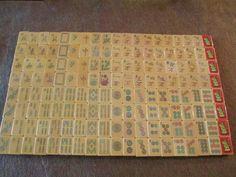 Rottgames 1920-30s Soaring Sparrow Mah Jongg Set.