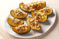 Acorn Squash with Apple Stuffing recipe