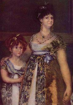 Goya: The Family of Charles IV of Spain,det.