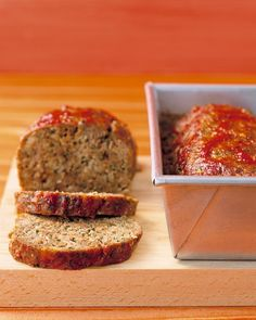 Meatloaf With Chili Sauce