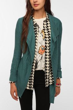 Staring at Stars Textured Marl Knit Cardigan - Urban Outfitters