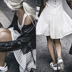 Get this look: http://lb.nu/look/8332933  More looks by Oksana Orehhova: http://lb.nu/oksiger  Items in this look:  Tfnc London Dress   #casual #minimal #street