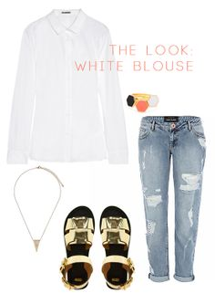 The Look: A White Blouse 5 Ways