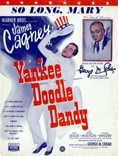 So Long, Mary (sheet music)  Yankee Doodle Dandy