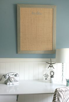 a bulletin board is the perfect accent for any bedroom