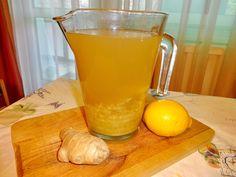 Gyömbértea - a házi csodaszer - Csabi Konyhája Hurricane Glass, Smoothie, Tea, Drinks, Tableware, Recipes, Drinking, Beverages, Dinnerware